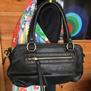 Like new Michael Kors leather handbag